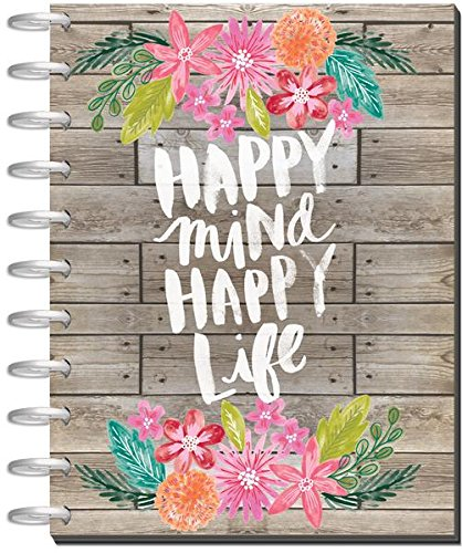 Me & My Big Ideas 18 Month BIG Happy Planner, Create 365 Planner, The Happy Planner, The Big Happy Planner, July 2017-December 2018, 8.5in x 11in Planner, Happy Mind Happy Life