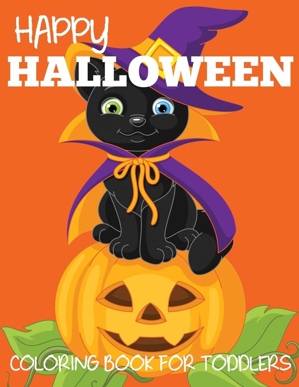 Cute Happy Halloween 2020 Happy Halloween Coloring Book for Toddlers (Halloween Books for
