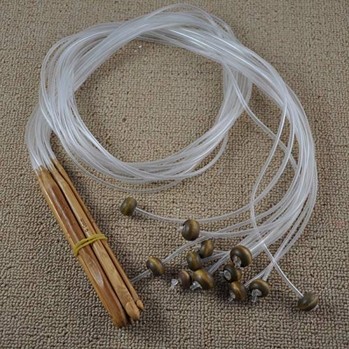 Weaving Tools - 12 Piece Sweater Needle Crochet Afghan Carpet Weaving - Knife Rugs For Rag Loom Kit Looms Shuttle