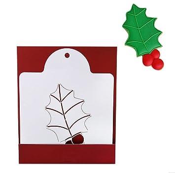 KABSJ Baking mould Serie de Navidad Quiche Tarta Cookie Cake Molde para Hornear Galletas panadería Respaldo raspado Molde Herramienta, 3pcs/Set, Molde de ...