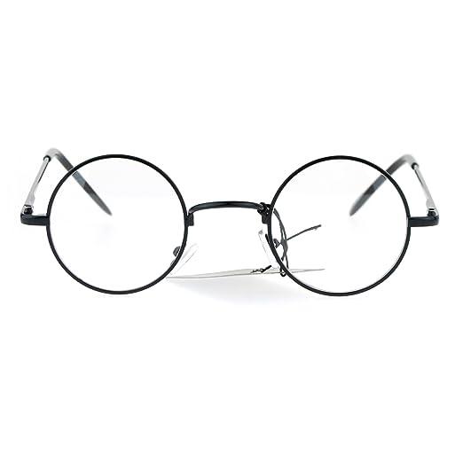 e588bc99c Amazon.com: Snug Small Retro Vintage Hippie Round Circle Lens Eye ...