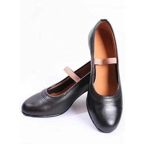 CALZADOS MALACA - Zapato - Malaca 10 Flamenca Profesional Negro, Talla: 26