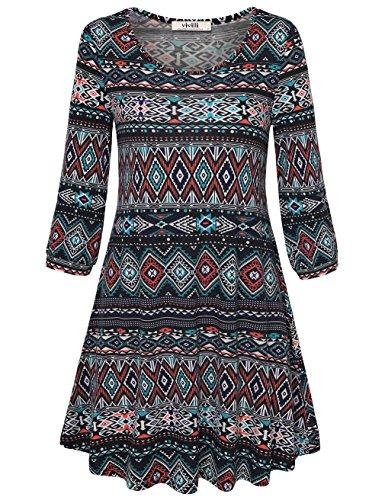 knitting pattern ladies tunic dress - 1