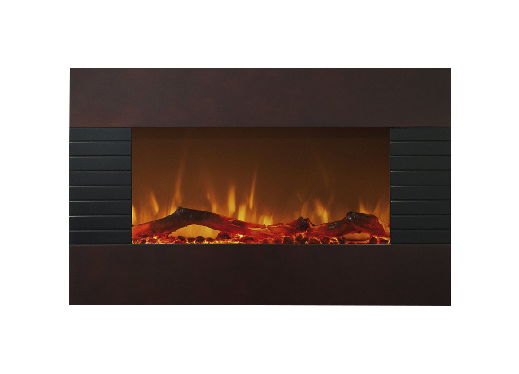 Northwest 80-422S Mahogany Fireplace With Wall Mount & Floor Stand, 36'' by Northwest (Image #1)