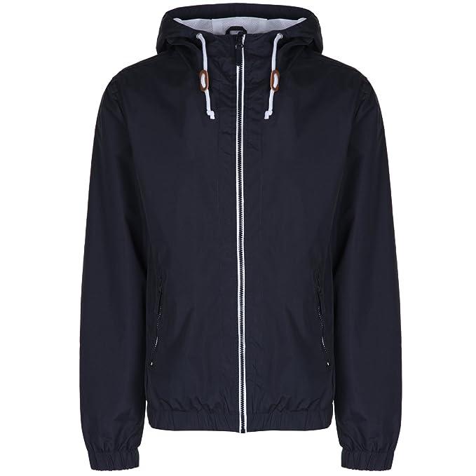 c0c110398 Mens Soulstar Renty Windbreaker Jacket Lightweight Hooded Waterproof Rain  Coat