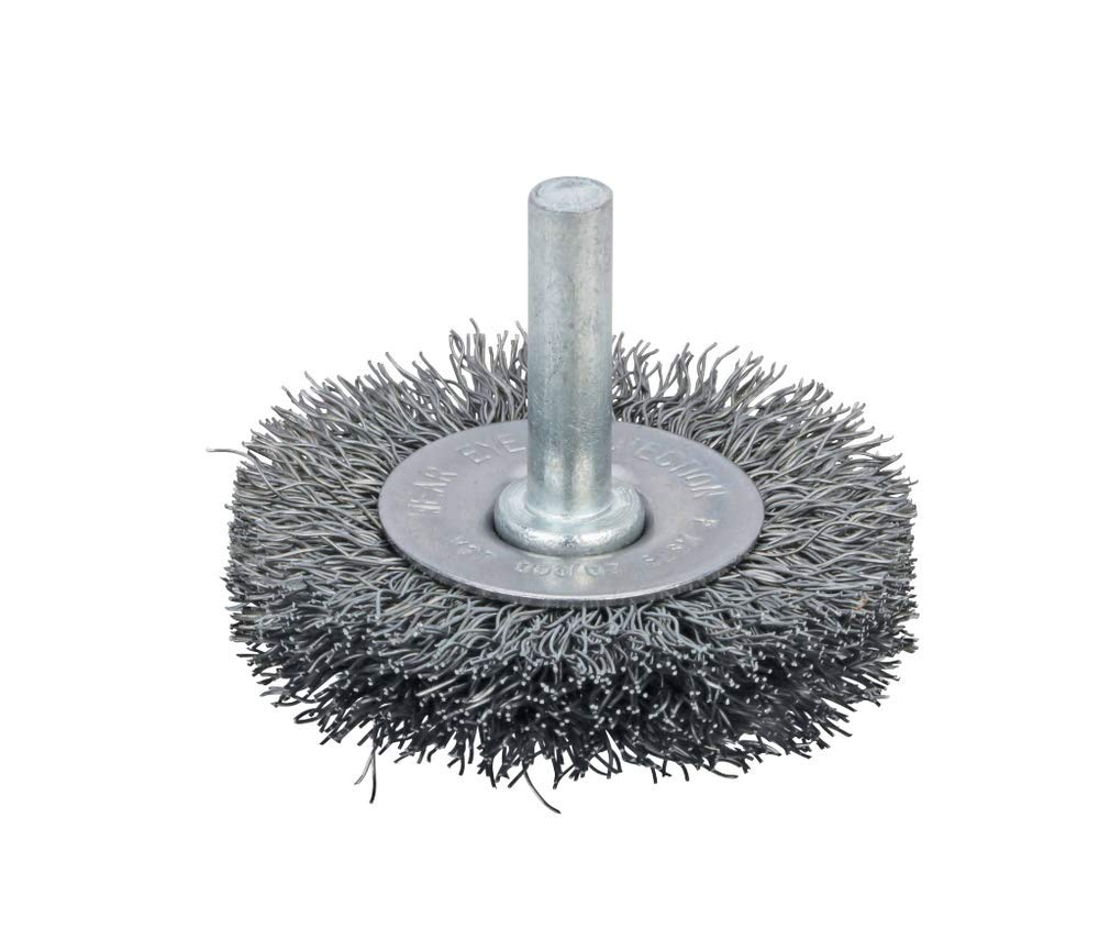 78866 - Crimped Wire Radial Wheel Brush 3'' (76 mm) Dia. x .014 x 13/16 Fit for Dynabrade