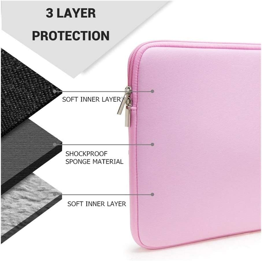 Laptop Zipper Sleeve 14,15.6 Inch Notebook Bag 13.3 for MacBook Air Pro 11.6 13 Case,Laptop Bag 11,12,13,15 Inch Protective Case Durable and Easy to Clean