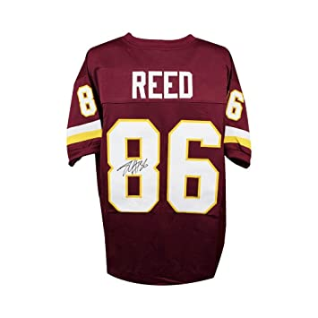 18a7c9541 Jordan Reed Autographed Washington Redskins Custom Burgundy Football Jersey  JSA