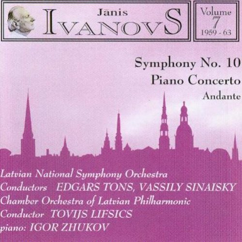 Music of Janis Ivanovs, Vol. 7: 1959-1963 ()