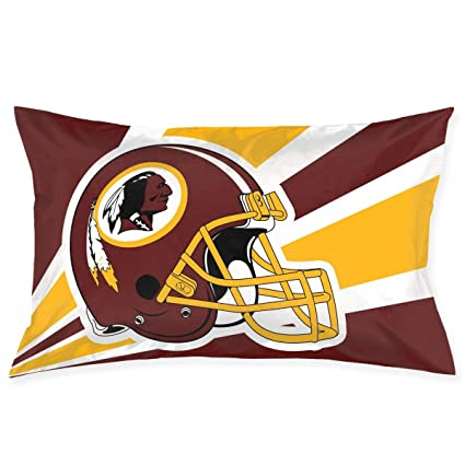 Peachy Marrytiny Custom Pillowcase Colorful Washington Redskins American Football Team Bedding Pillow Covers Rectangular Pillow Cases For Home Couch Sofa Creativecarmelina Interior Chair Design Creativecarmelinacom
