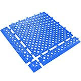 BOX USA BMAT320BE Lok-Tyle Drainage Mats, Tile, 12'' x 12'', Blue