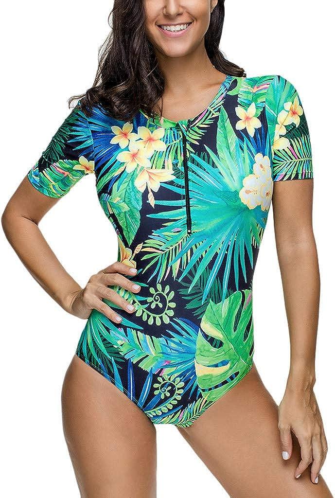 Acolchado Bañador | Acolchado Bra Trajes de Baño | Tamaño: S ~ XL Bikini Falda Mujer Dos Piezas Sexy Talla Grande Traje de Baño S-5XL Bañador de Una Pieza con Aros Tallas