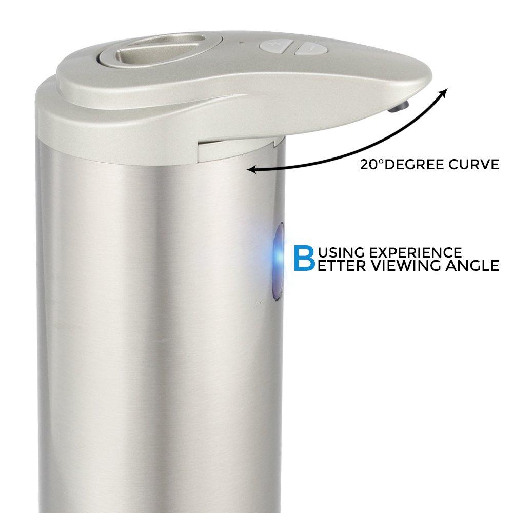 Amazon.com: Electronic soap dispenser 300ML Smart Sensor Touchless Sanitizer Dispensador for Kitchen Bathroom: Home & Kitchen