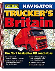 Philip's Navigator Trucker's Britain: Spiral (Philips Road Atlas)