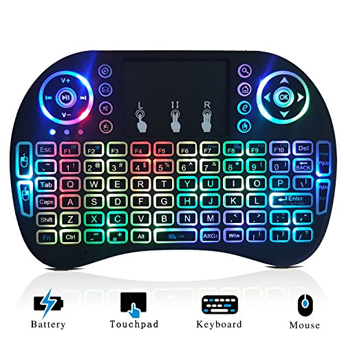 Mini Wireless Keyboard Backlit and Touchpad Mouse Combo for sale  Delivered anywhere in USA