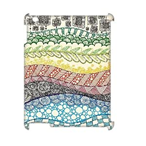 Inspired Doodle iPad2,3,4 Cover, Customized iPad2,3,4 Case 3D