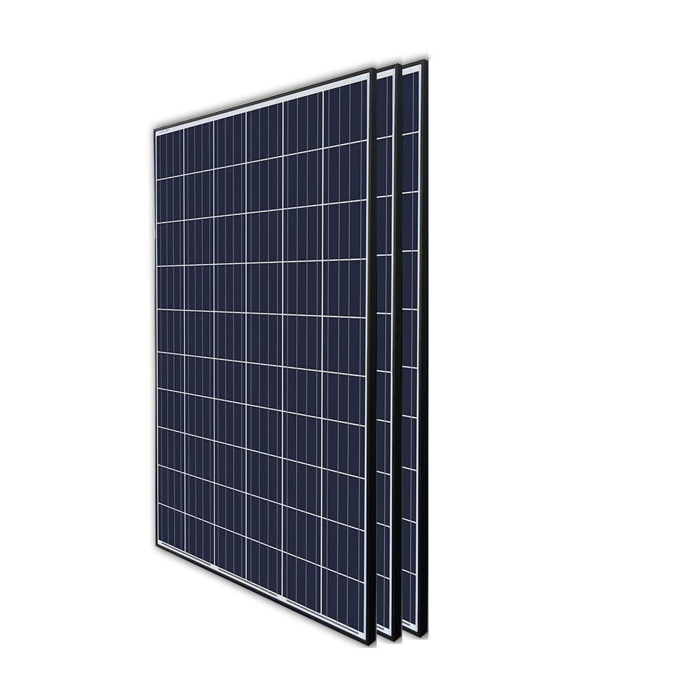Renogy 3Pcs 270 Watt 24 Volt Solar Panel 810W for Off-Grid On-Grid Large Solar System, Residential Commercial House Cabin Sheds Rooftop, Multi-Panel Solar Arrays