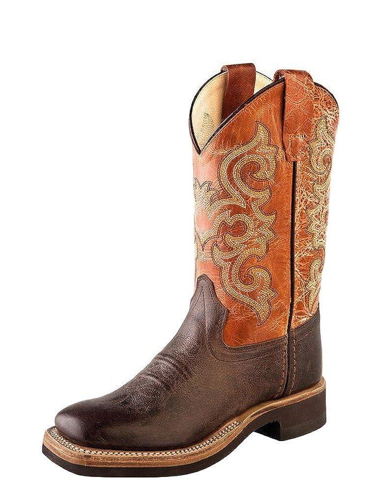 Big Kid Old West Kids Boots Unisex Truffle Square Toe