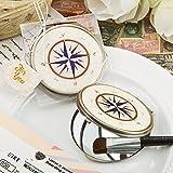 44 Vintage Metal Bronze Compass Design Mirrors