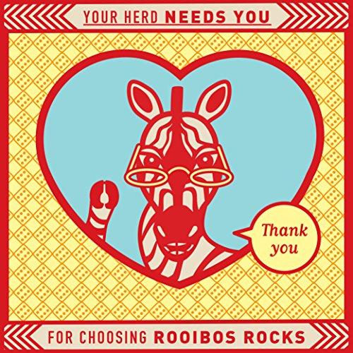 Rooibos Tea Organic Tagless Teabags - 100 South African Red Bush Herbal Tea Bags, By Rooibos Rocks (100ct) by Rooibos Rocks (Image #8)