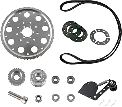 Motorized Pulley Drive Set Parts For 66cc 80cc 2 Stroke Engine Motorised Bicycle