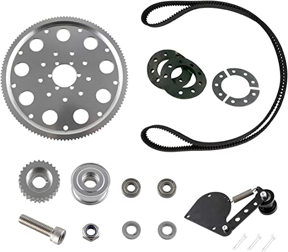 sthus Belt Drive No More 415 Chain For 2 Stroke 66cc 80CC Engine Motorized Bicycle