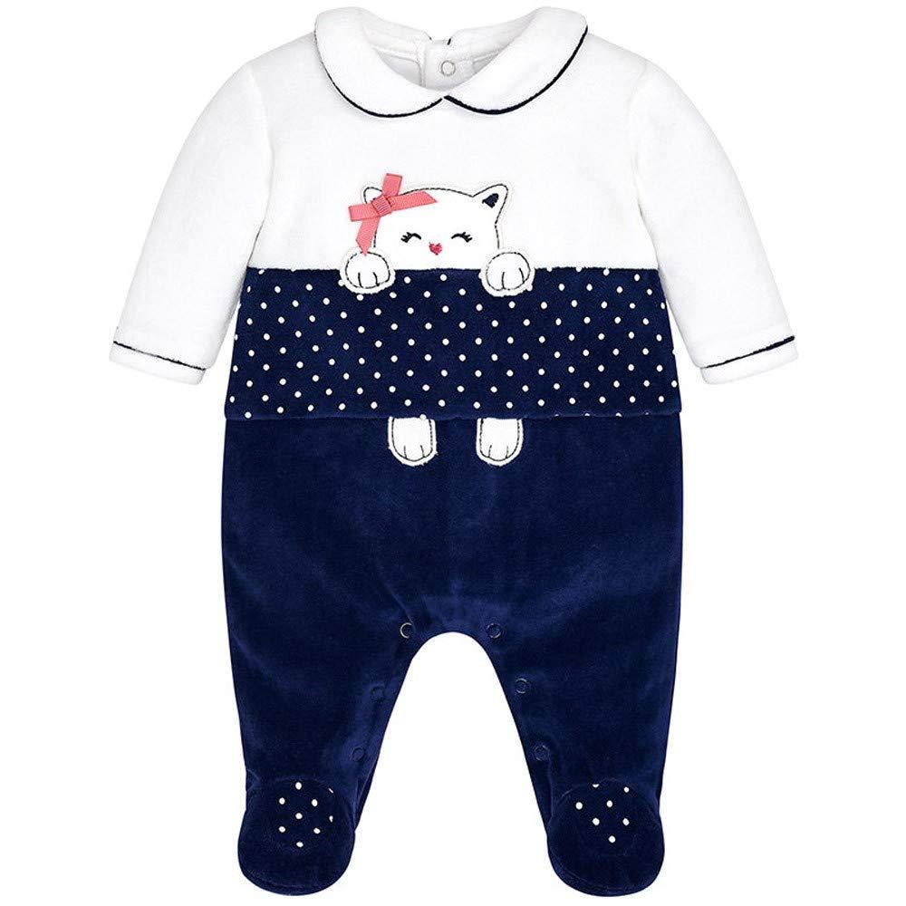 Mayoral Pijama Pelele Bebe Niña 1-12 Meses