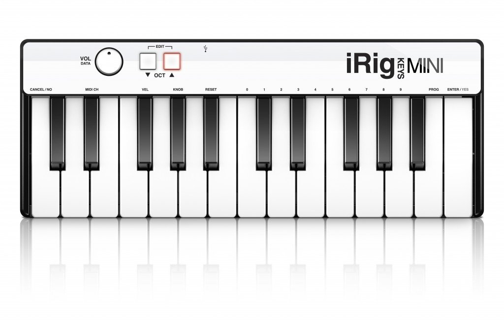 IK Multimedia iRig Keys MINI 25-key universal keyboard controller for iPhone, iPad, Android and Mac/PC by IK Multimedia