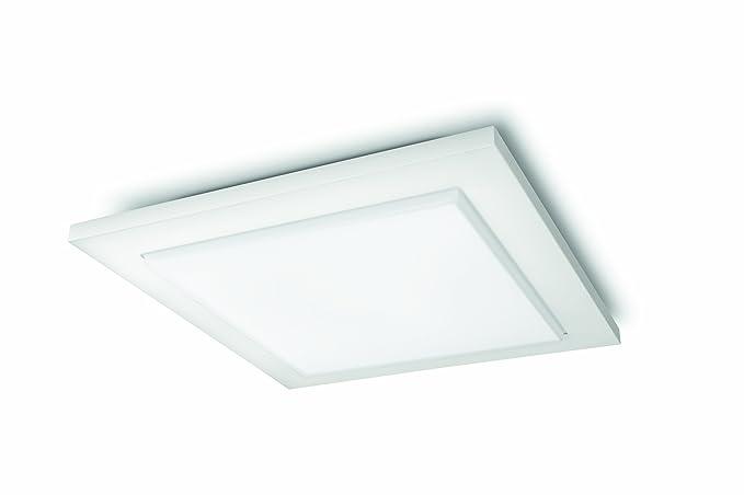 Plafoniere Quadrate Philips : Philips instyle lampada da soffitto bianco amazon illuminazione