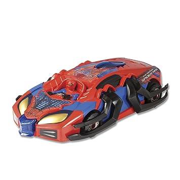 85447 Véhicule Racer Spiderman Spider Miniature Transforming Silverlit Amazing Attack Ir MpqUGLzVS