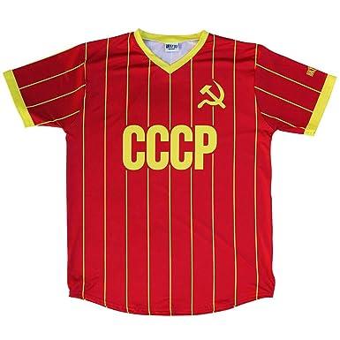 new product 973c2 58e77 CCCP Soviet Union Ultras Soccer Jersey | Amazon.com