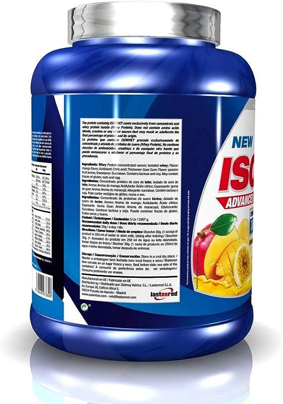 Quamtrax Nutrition Isowhey, Sabor Mango & Fruta de La Pasión - 2270 gr