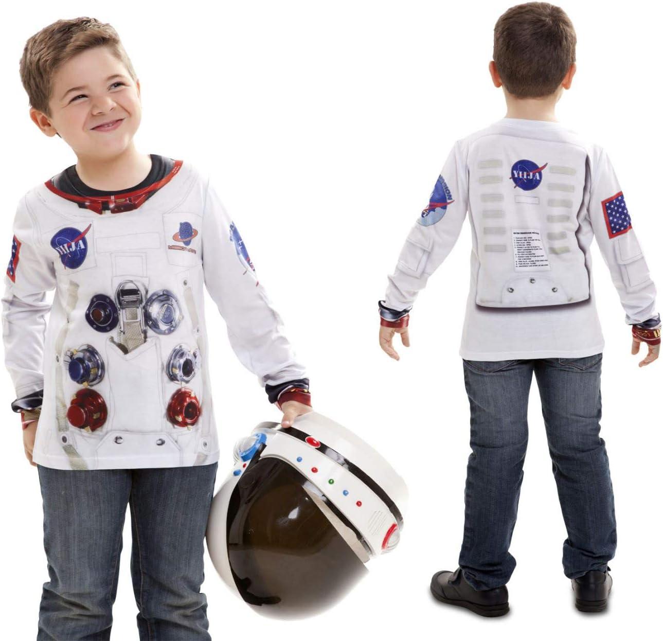 Disfraz Camiseta de Astronauta Original de Carnaval para niño de 2 ...