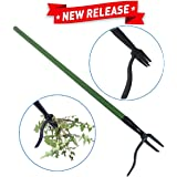 EasyGoProducts Weedinator - Standing Weed Pulling Tool - Weed Root Puller and Killer