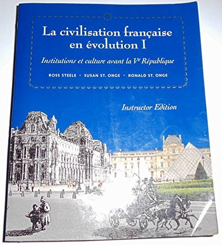 LA Civilsation Francaise
