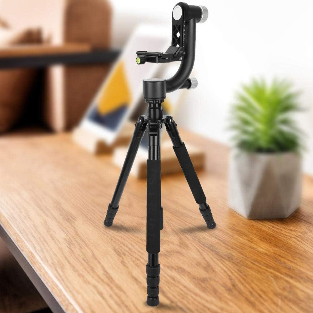 Qinlorgo Ball Head,Photography Ball Head Carbon Fiber 360 Panoramic Ball Head for SLR Camera Photography Bird Shooting