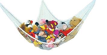 Speichernetz Spielzeug Hängematte Speichernetz für Kuscheltiere, Spielzeug Aufbewahrung geeignet für Kinderraum, Kinderspielzeug, Organisation &