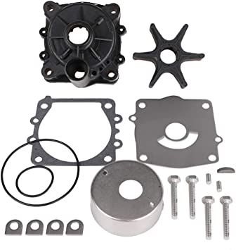 Tutor Auto Water Pump Repair Kit with Housing Replacement for Yamaha V6 150 175 200 225 250 /& 300 HP Outboard Motor Parts Replace 61A-W0078-A2-00 61A-W0078-A3-00 Sierra 18-3396