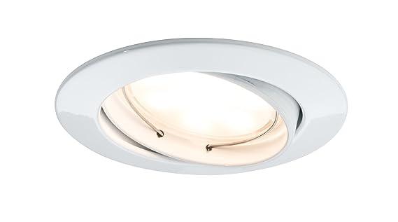 Paulmann LED-Einbauleuchte, 20,4 W, 2700 K warmweiß, 3er Set, 927.75 ...