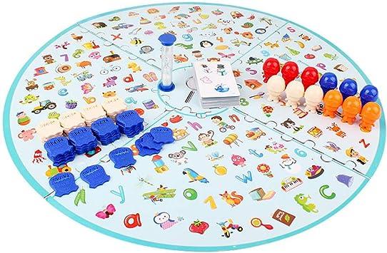 LZDseller01 Game Board, Brainstorming Game Juego de Mesa para niños Detectives Brain Training Educación temprana Enseñanza Matemáticas Juguetes para niños: Amazon.es: Juguetes y juegos