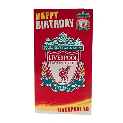 Liverpool Fc Birthday Card Amazon