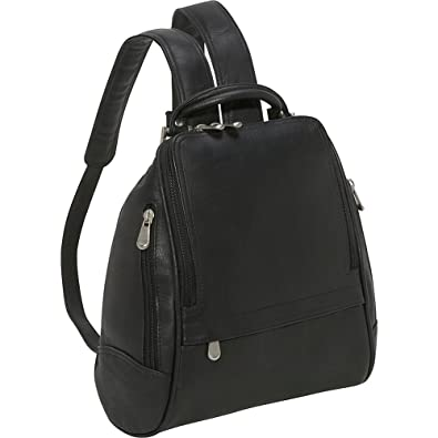 Amazon.com: U Zip Mid Size Backpack Color: Black: Shoes