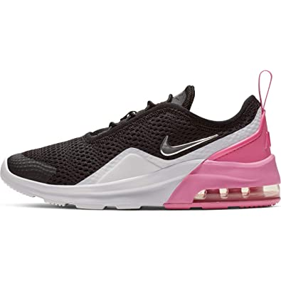100% authentic 7c448 8c7b7 Nike Girl s Air Max Motion 2 (PS) Pre School Shoe Black Metallic Silver