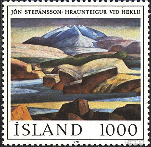 - Iceland 535 (Complete.Issue.) 1978 Paintings (Stamps for Collectors) Painting