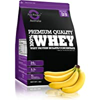Pure Product Australia Whey Protein Isolate and Concentrate Powder, Banana 1 kilograms