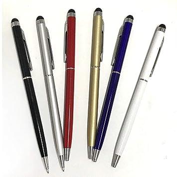 Stylus pen,10pcs Universal 2 in 1 Capacitive Stylus Ballpoint Pen for Smartphone