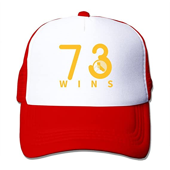 Personalizado 73 gana Logo Gorras de béisbol azul eléctrico, Rojo: Amazon.es: Deportes y aire libre