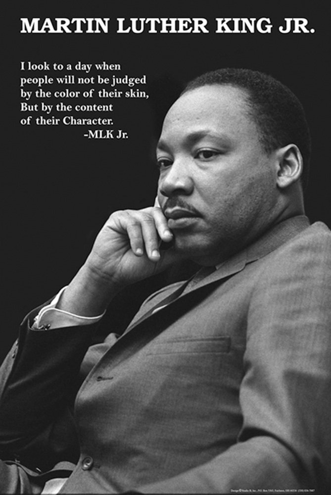 MLK Day poster classroom decorations