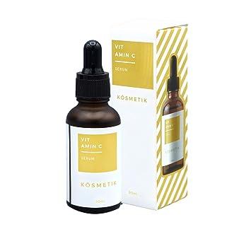 KÖsmetik - Serum con vitamina C de 30 ml, mejora la piel, y aporta protección contra la contaminación del medio ambiente: Amazon.es: Belleza