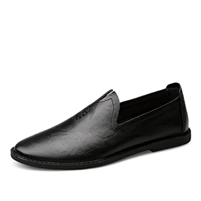 f3fc7992ff7 Brand Handmade Casual Genuine Leather Men Flats
